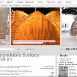 Frame web magazine